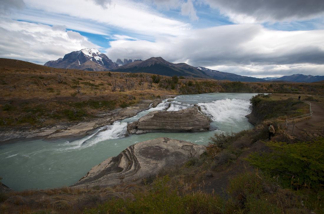 Cascada del Río Paine