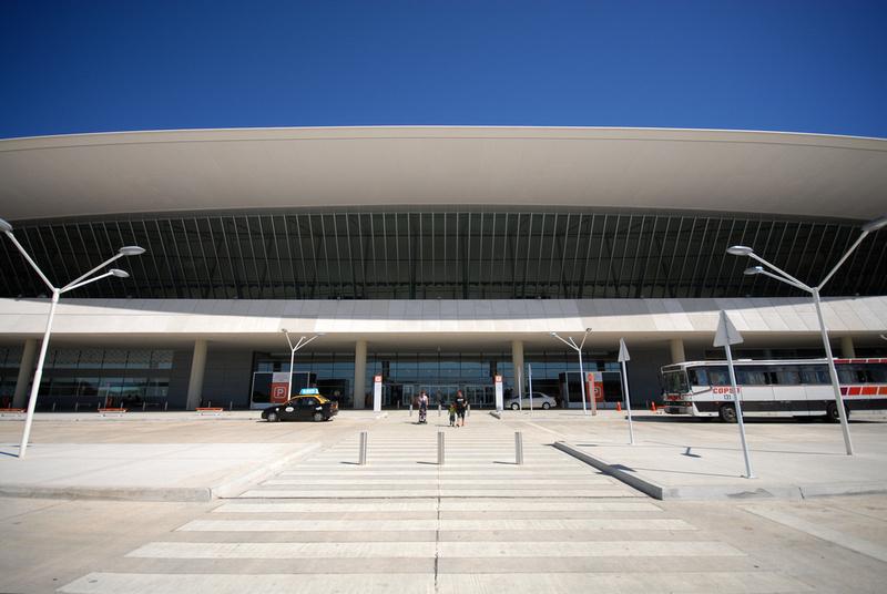 Entrance of Carrasco Airport