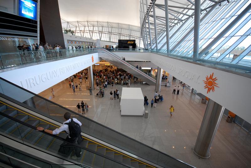 Hallway of Aeropuerto Internacional de Carrasco
