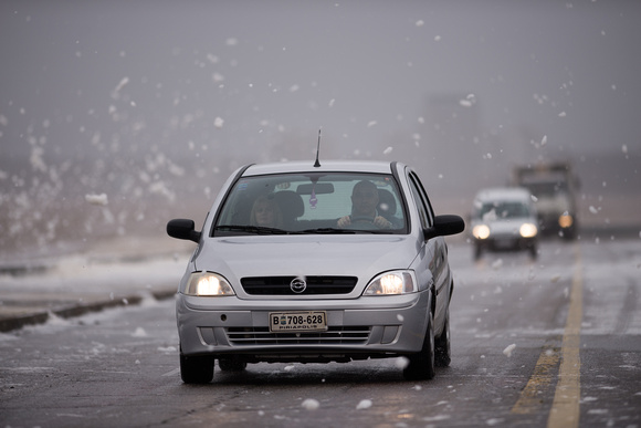 Foam flakes on the rambla 2