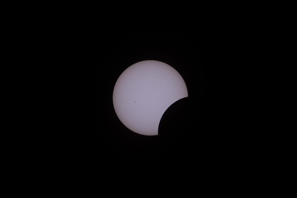 Maximum eclipse + 1 hour, 11 minutes