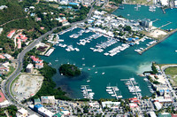 The harbour of Road Town in Tortola, British Virgin Islands