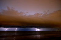 Lightning over Punta del Este 3
